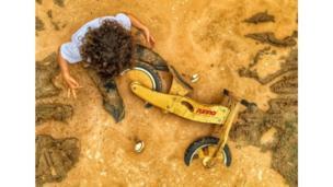 """Fotografía de Bruno Dreux, tercer lugar en la categoría """"Niños"""""""