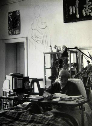 Matisse in bed