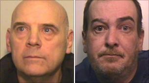 Eric Mayes (left) and Mark Heaton - _52280895_299083f7-5e63-46a2-a491-8c1d3488b4c8