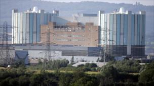Oldbury Power Station view, present day