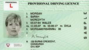 How much is provisional licence