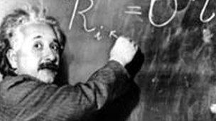 Image caption Experts from Oxford and Cambridge University believe Einstein displayed signs of Asperger     s BBC