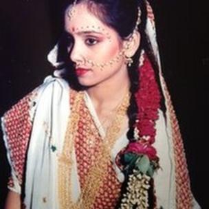 Old photograph of Nisha Palicha