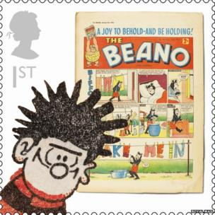 Dennis the Menace stamp