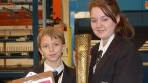 Around 110 torches a day will be carried through over 1,000 communities during the 70-day Olympic Torch Relay this summer