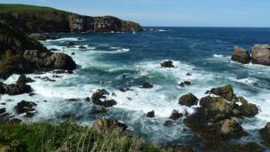 St Abbs shoreline
