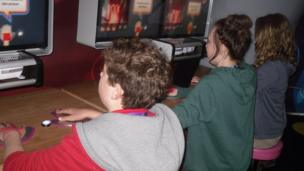 Schooler Reporters from Southampton get in the zone