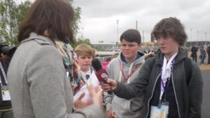 School Reporters talk to Dr Leah Holmes
