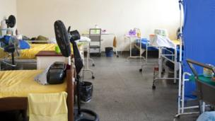 A ward at the Colonia Antonio Aleixo leprosarium in Manaus, March 2012