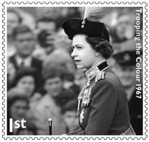 Queen's Jubilee stamp