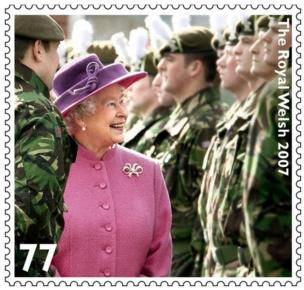 Queen's Jubilee stamp