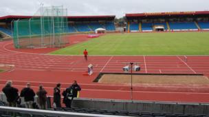 Alexandra Stadium in Birmingham