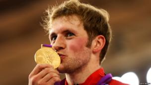 Cyclist Jason Kenny