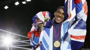 Super heavyweight boxing champ Anthony Joshua