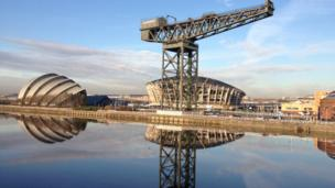 The SECC, Titan crane and Hydro