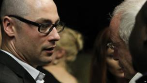 Carl and Henke Pistorius in court, 15 Feb