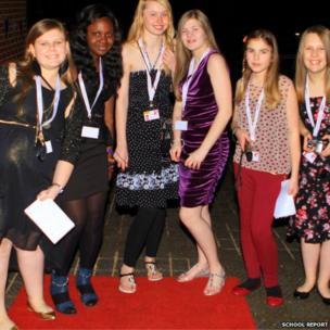 Amber, Ope, Kennedy, Jess, Alana and Alicia