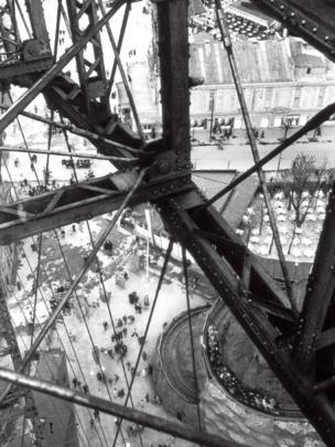 Prater Ferris Wheel, Vienna by Edith Tudor-Hart,1931