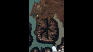 Patagonia from space