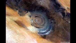 Richat Structure of Mauritania