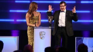 David Braben at Bafta Games Awards