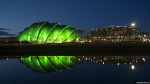 Glasgow's Armadillo