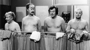 scene from Are You Being Served from 1979