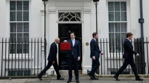 Britain's Chancellor of the Exchequer, George Osborne