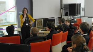 BBC Radio Leicester editor Jane Hill takes questions from BBC School Reporters on how she dealt with the story