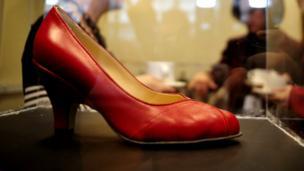 A shoe by Vivienne Westwood