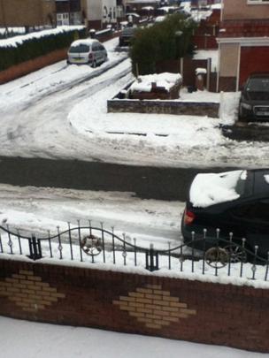 Snowy streets. Photo: Charlie Thomas