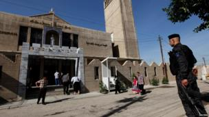 St Joseph Chaldean Church, Baghdad, 31 March