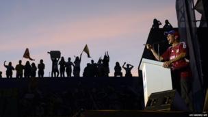 Venezuelan opposition presidential candidate Henrique Capriles