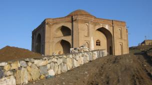 The tomb of Sharif Khan in Ghazni