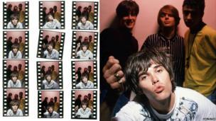 The Stone Roses press shots by Ian Tilton