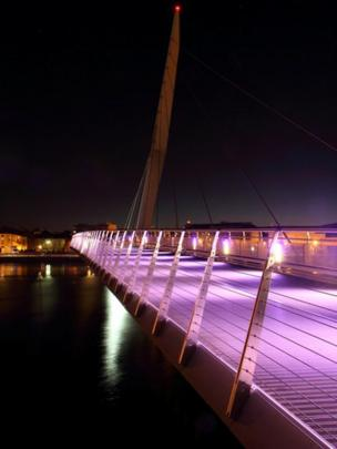 Swansea's Sail Bridge