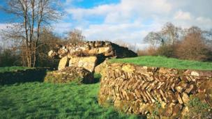 Tinkinswood burial by Cadw