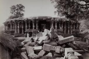 The Thousand Pillar Temple at Hanamkonda, December 1887–February 1888