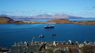 View from McCaig's Tower