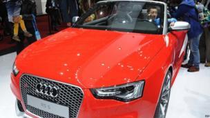 Audi RS5 sports car