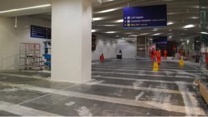 Preview of the new concourse at New Street station
