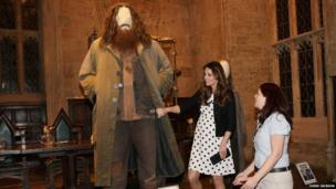 Hagrid costume and Kate