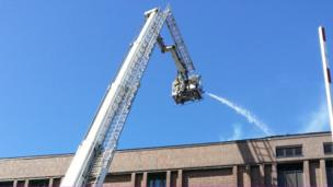 Fire at National Library in Aberystwyth