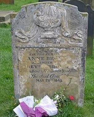Anne Bronte grave stone