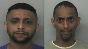 Image caption Bassam (left) and Mohammed Karrar prostituted and raped girls in partnership - _67380625_karrarbrothers