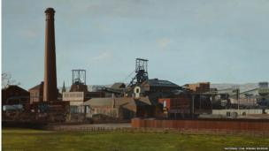 Elsecar Colliery by Peter Watson