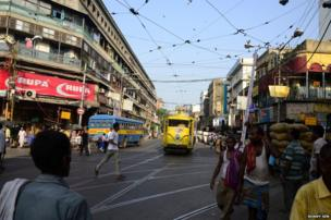 Calcutta trams