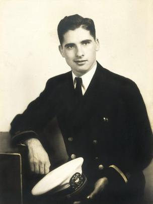 """Spud"" Campbell served as a young man on the SS Henry Bacon in the Russian Arctic Convoys."