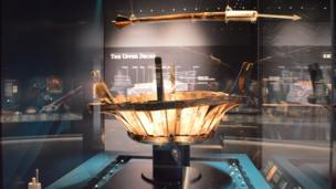 The Mary Rose crow's nest recovered from the seabed