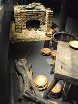 The Tudor galley